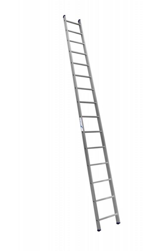 Алюминиевая односекционная  приставная лестница 6115 - 734