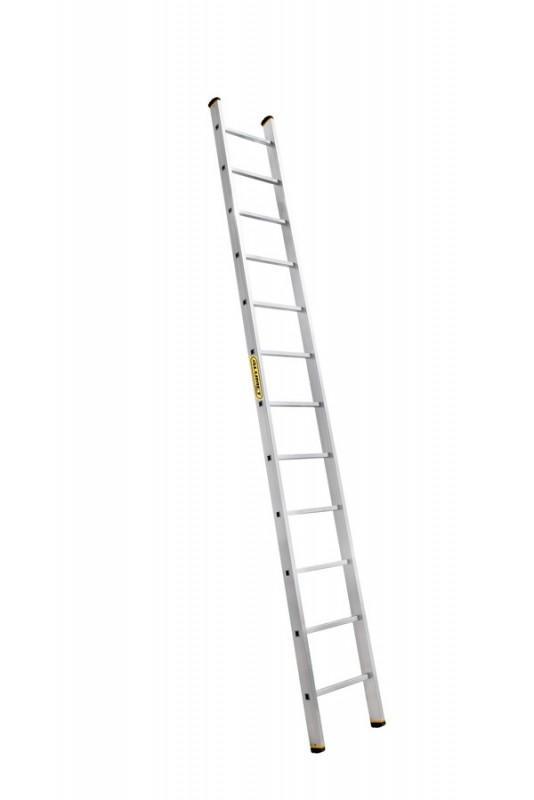 Алюминиевая лестница приставная профессиональная P1 9112 - 740