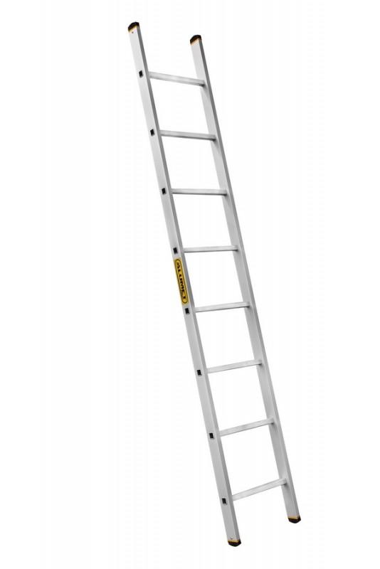 Алюминиевая лестница приставная профессиональная P1 9118 - 743