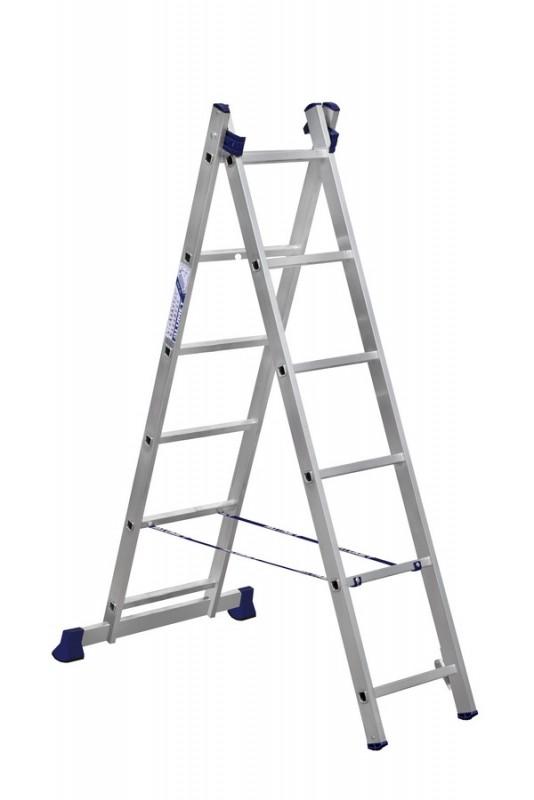 Алюминиевая двухсекционная лестница 5206 - 750