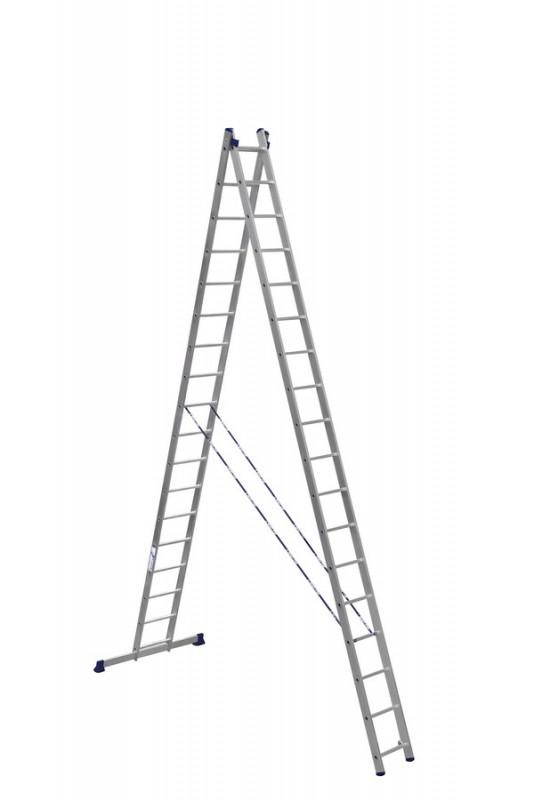 Алюминиевая двухсекционная лестница 6218 - 755